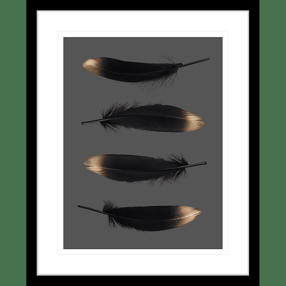 Spellbound Collection - SPELL01 - Framed Art Print Black