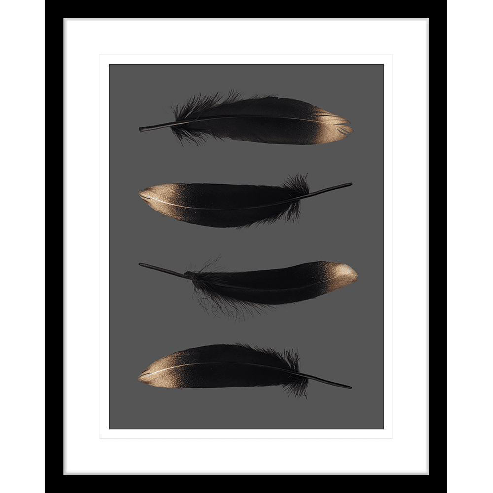 Spellbound Collection - SPELL04 - Framed Art Print Black
