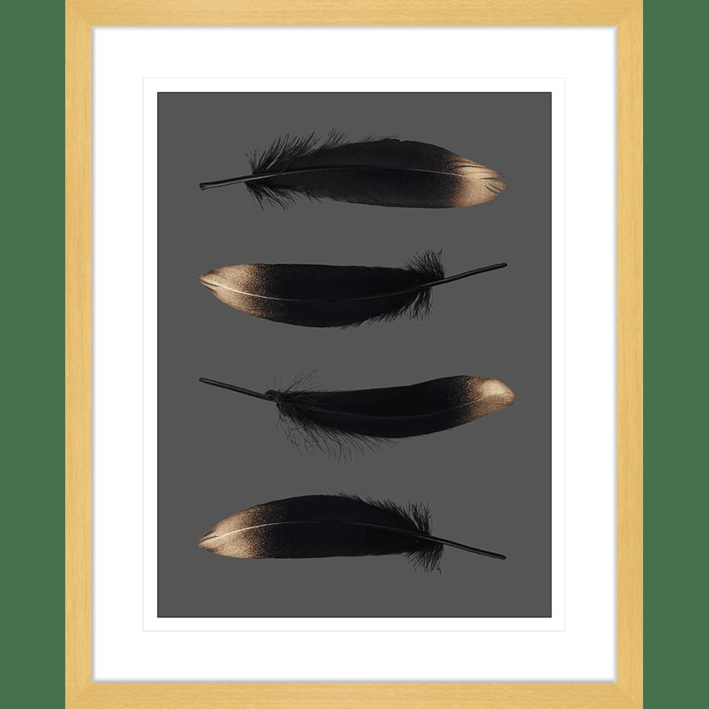 Spellbound Collection - SPELL04 - Framed Art Print Oak