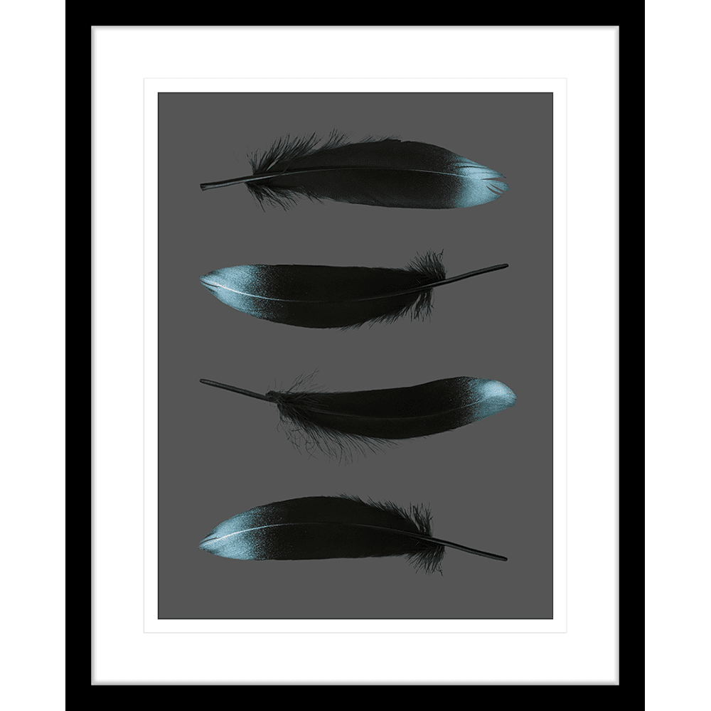 Spellbound Collection - SPELL05 - Framed Art Print Black
