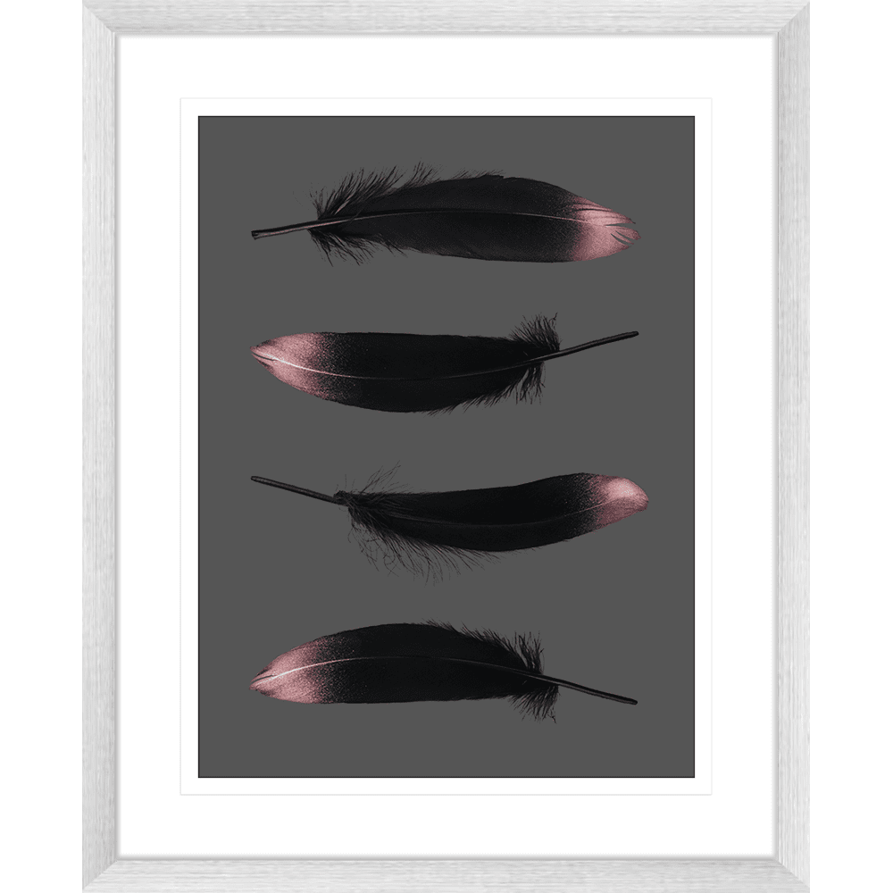 Spellbound Collection - SPELL06 - Framed Art Print Silver