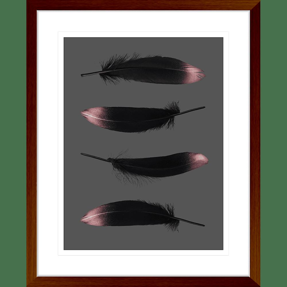 Spellbound Collection - SPELL06 - Framed Art Print Teak