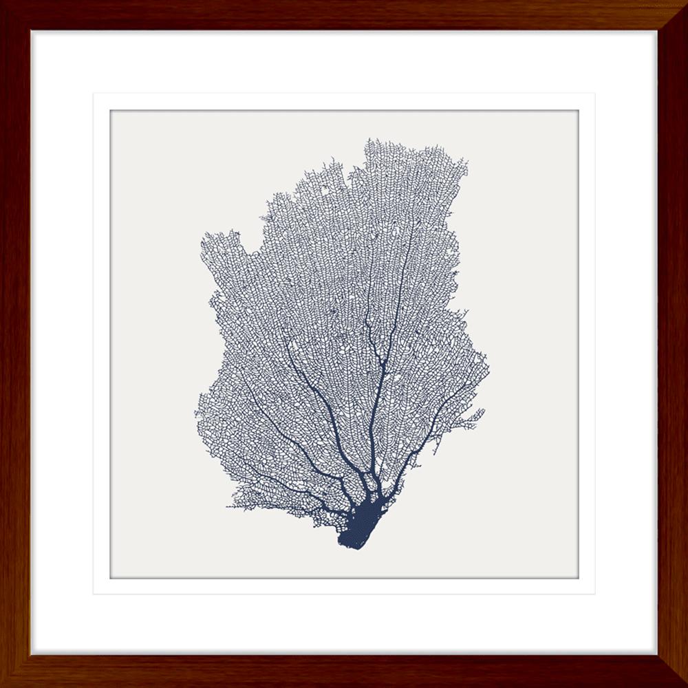 Tranquil Bay Collection - TRANQ02 - Framed Art Print Teak