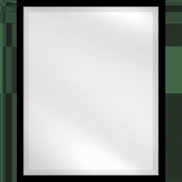 Mirror BLK Bevelled