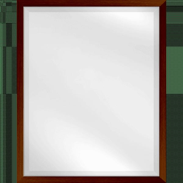 Mirror TEAK Bevelled