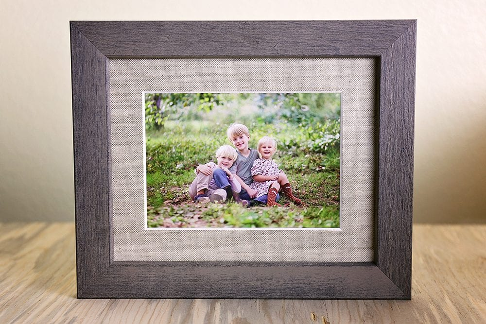 Creative ways to display family portraits