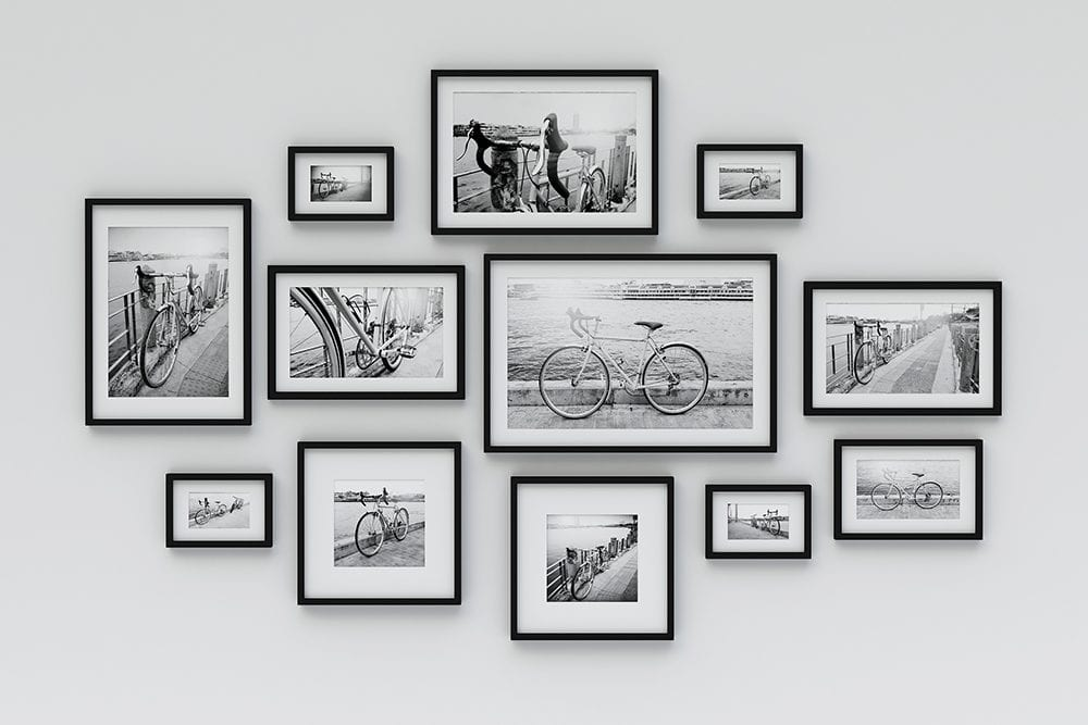 Framing photographs to tell a story