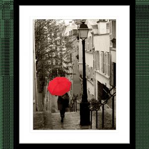 Paris Stroll 02 | Black Framed Artwork