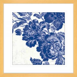 Toile Roses 02 | Oak Framed Artwork