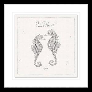 Underwater Life 02 | Black Framed Artwork