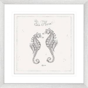 Underwater Life 02 | Silver Framed Artwork