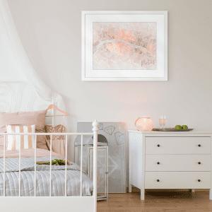 Watercolour Wanderlust | Artwork Styled Room