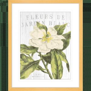 Fleuriste Paris | Oak Framed Artwork