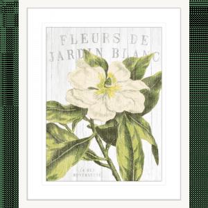 Fleuriste Paris | White Framed Artwork
