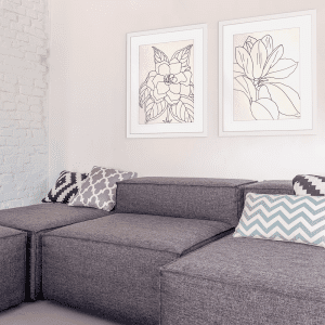 Line Drawing | Artwork Styled Room