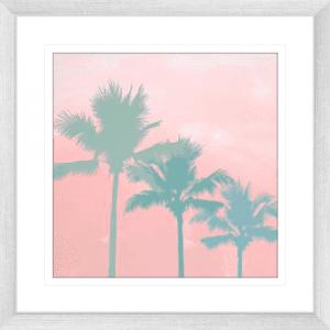 Surf & Sunsets 01 | Silver Framed Artwork