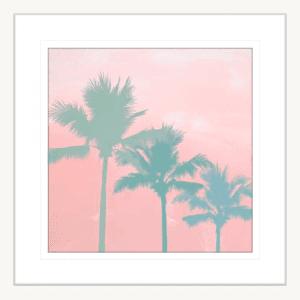 Surf & Sunsets 01 | White Framed Artwork