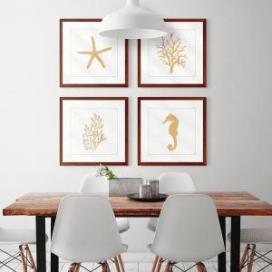 24 Karat Sealife | Artwork Styled Room