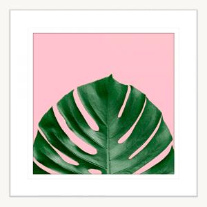 Miami Vibe 01 | White Framed Artwork