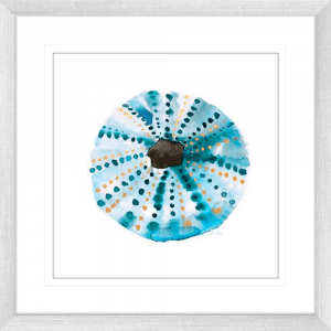 Sea Glass 02 | Silver Framed Artwork