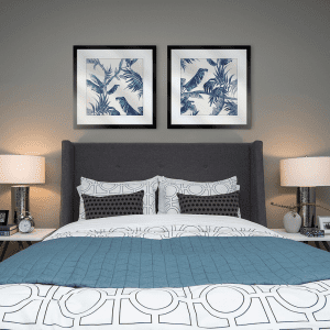 Tropical Paradiso | Artwork Styled Room