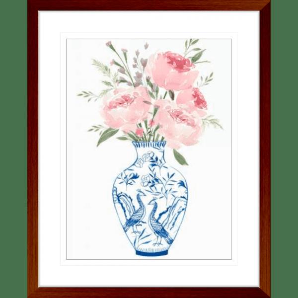 Ever Thine | Teak Framed Artwork