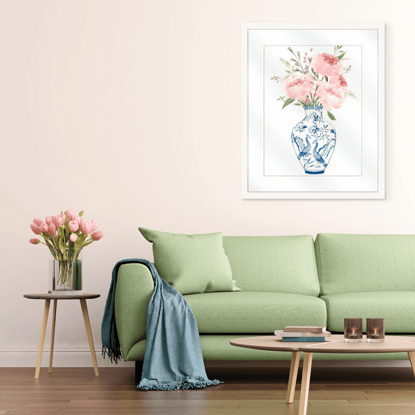 Ever Thine | Artwork Styled Room