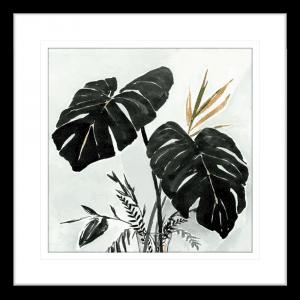 Oasis Palms 01 | Black Framed Artwork