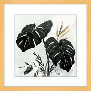 Oasis Palms 01 | Oak Framed Artwork