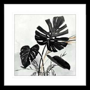 Oasis Palms 02 | Black Framed Artwork
