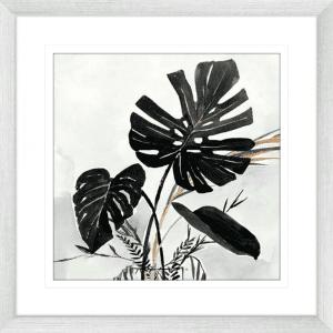 Oasis Palms 02 | Silver Framed Artwork