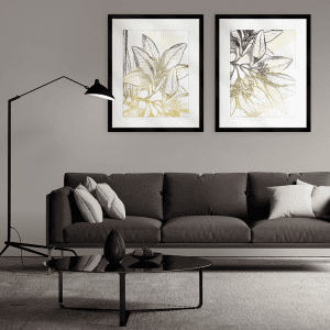 Fade Botanicals | Artwork Styled Room