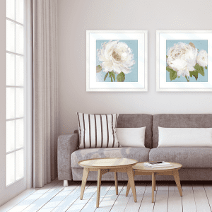 Flowers by the Sea   Artwork Styled Room