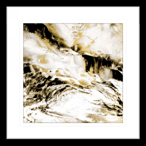 Majestic Square 01 | Black Framed Artwork