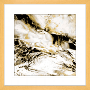 Majestic Square 01 | Oak Framed Artwork