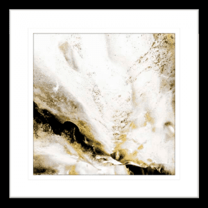 Majestic Square 02 | Black Framed Artwork
