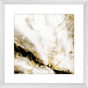 Majestic Square 02 | Silver Framed Artwork