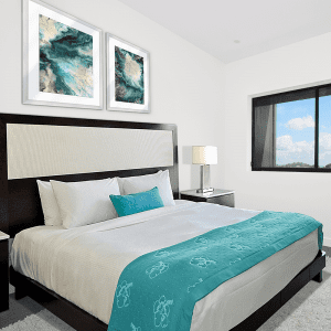Neo Teal | Artwork Styled Room