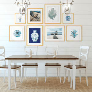 Gallery Wall | Artwork Styled Room
