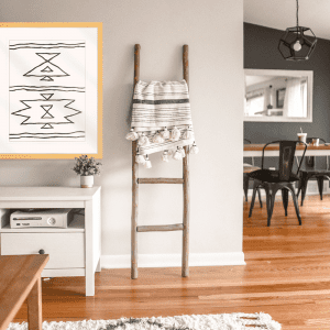 Angular Tapestry 01   Artwork Styled Room