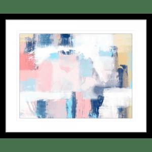 Spring Distressed 1 | Black Framed Artwork