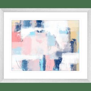 Spring Distressed 1   Silver Framed Artwork