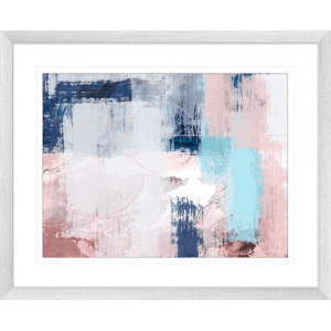 Spring Distressed 2 | Silver Framed Artwork