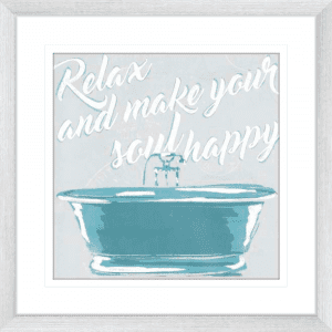 Soul Happy | Silver Framed Artwork