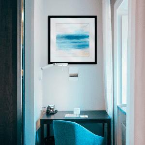 Indigo Seascape II | Artwork Styled Room