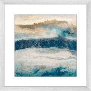 Mountain Peak | Silver Framed Artwork