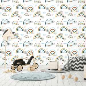 Earthchild Rainbows Brooklyn | Wallpaper Styled Room
