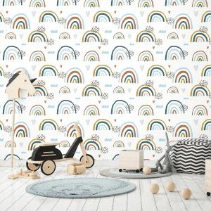 Earthchild Rainbows Brooklyn | Wallpaper Styled Room