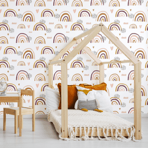 Earthchild Rainbows Florence | Wallpaper Styled Room