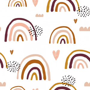 Earthchild Rainbows Florence | Wallpaper Swatch